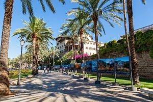 Palma de Mallorca street