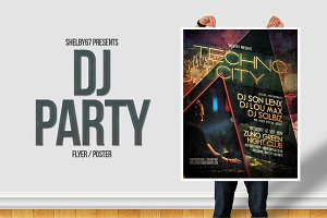 DJ Party Flyer / Poster