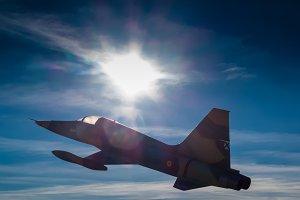 Fighter aircraft Northrop F-5A