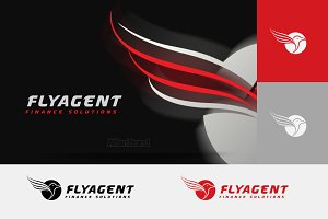 Fly Agent Logo
