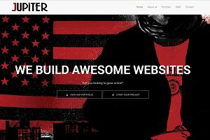 Jupiter - One-page Html Template