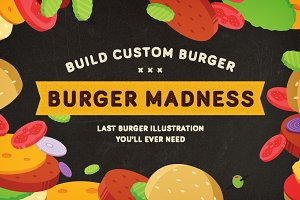 BURGER MADNESS - Burger Builder