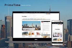 PrimeTime - Magazine & Blog HTML