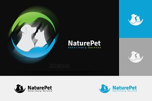 Nature Pet Logo