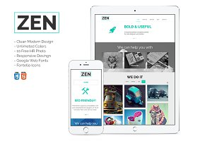 ZEN - Multipurpose HTML Theme