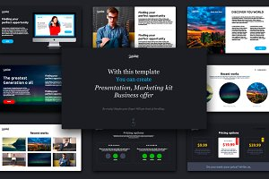 STARTUP - Creative pptx template