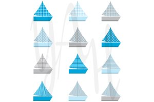 Sail Boat Patterns
