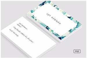 Banana Leaf Crush Business Card