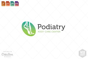 Podiatry Logo Template 7