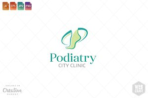 Podiatry Logo Template 8