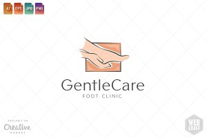 Podiatry Logo Template 9