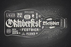 Lettering for Oktoberfest