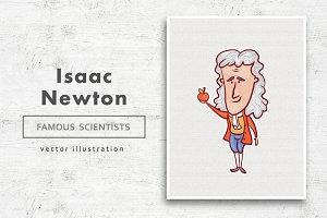 Isaac Newton • Vector character