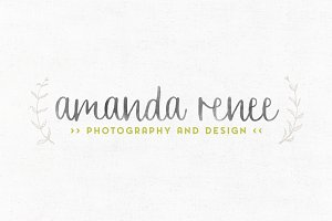 Amanda Renee Premade Logo Template