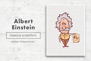 Albert Einstein • Vector character