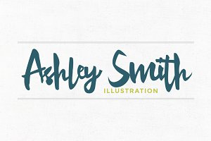 Ashley Smith Premade Logo Template
