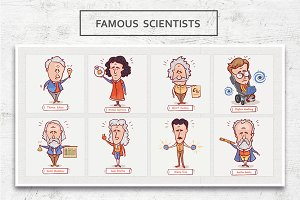 Famous scientists • Volume 1