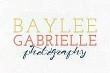 Baylee Gabrielle Premade Logo