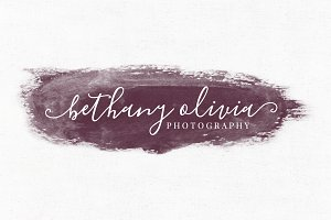 Bethany Olivia Premade Logo Template