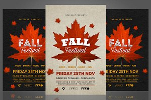Autumn Fall Flyer