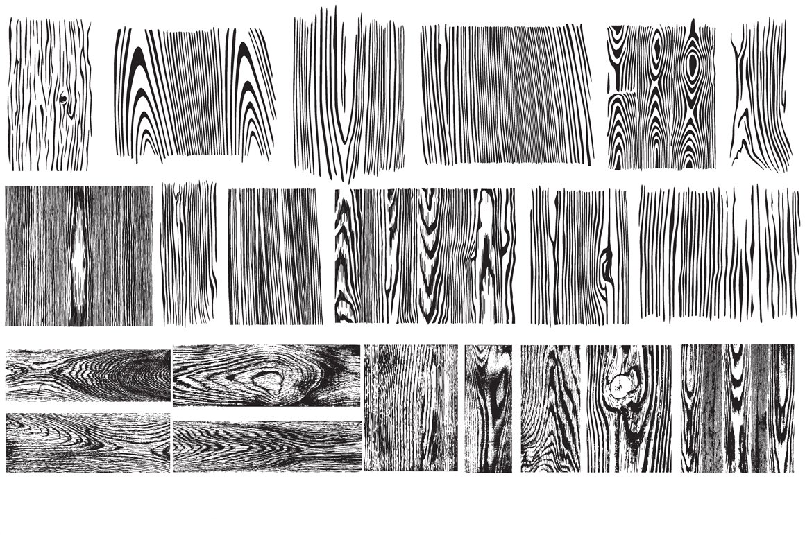 Uncategorized Drawing Wood Grain wood grain vector pack illustrations creative market