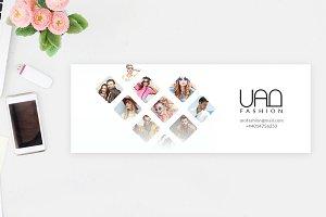 Uro fashion Facebook cover design