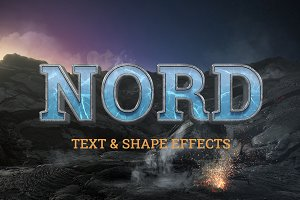 NORD: Cinematic Text & Logo effects