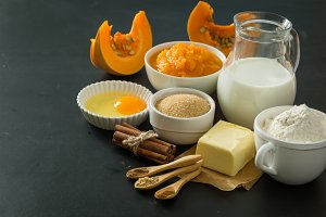 pumpkin pie ingredients