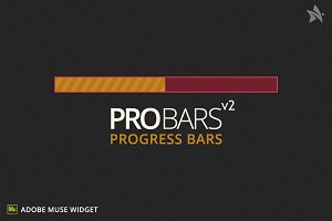 Progress Bars v2 for Adobe Muse