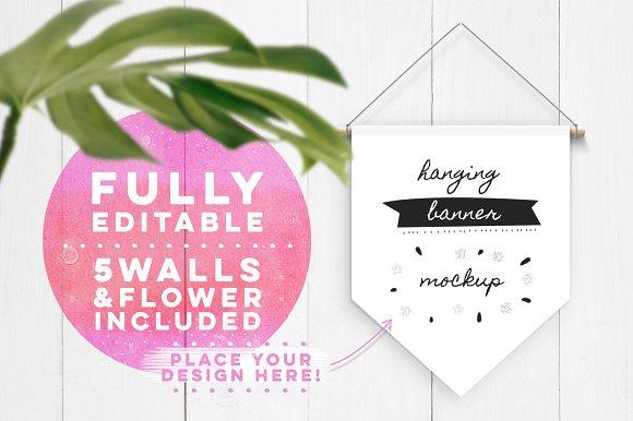 Download Hanging Banner Mockup