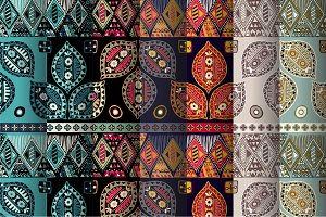 7 Ethnic Seamless Patterns