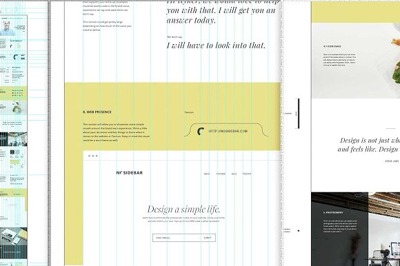 Vertical Style Guide Template