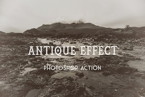 Antique Effect - PS Action