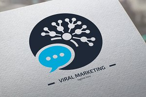 Viral Marketing V2 Logo