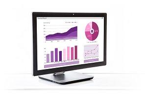 Desktop PC Monitor Finance Report