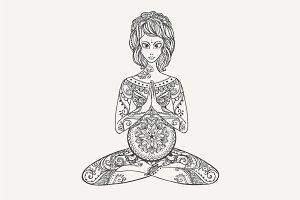 Yoga PDF, PNG, EPS10 №3