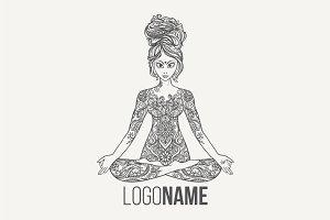 Yoga PDF, PNG, EPS10 №2