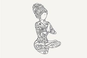 Yoga PDF, PNG, EPS10 №5
