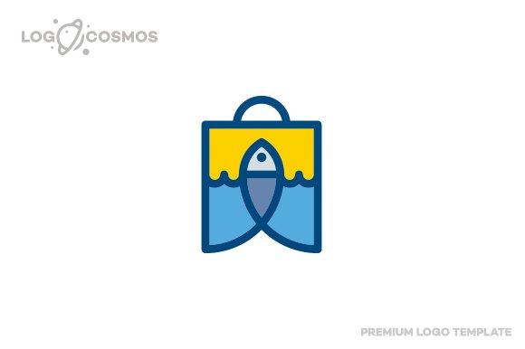 Bishop - Fish & Bag Logo