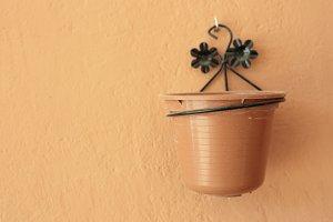 Plastic planter hanging