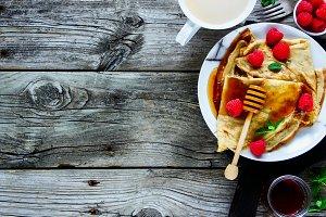 Rural breakfast set