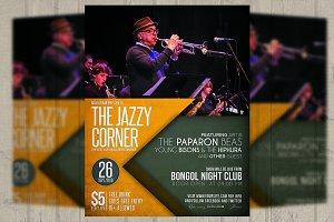 Jazz Corner / Flyer / Poster
