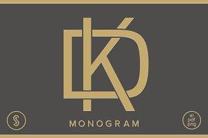 DK Monogram KD Monogram