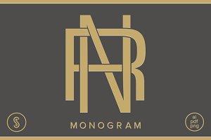 NR Monogram RN Monogram