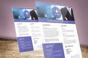 Corporate Flyer Template V.4