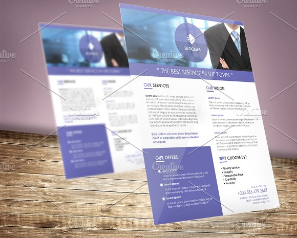 Corporate Flyer Template V.4 - Flyers
