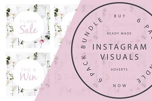 Instagram Banners 6 Pack - Whimsical