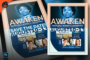 Awaken Women's Conference Flyer