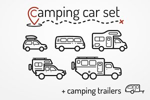 Camping car set