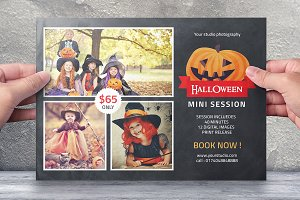 Halloween Mini Session Template-V393